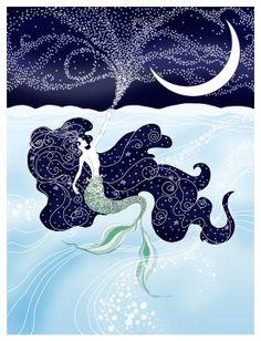 Sea & Sky Art Print - Author