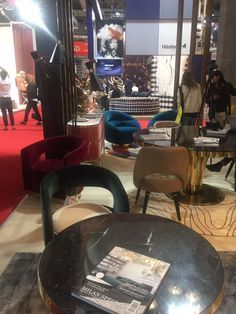 We are at iSaloni waiting for you! Come check out the new pieces at Hall 6, Stand C44 and discover your new favorite midcentury modern brand! See you soon!
