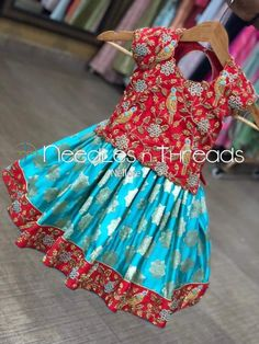 Kids Blouse Designs, Kurta Designs, Dress Designs, Kids Lehenga, Lehenga Choli, Sarees, Kids Ethnic Wear, Kids Dress Wear, Kids Outfits