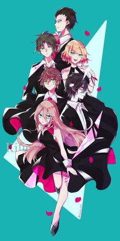 puras imágenes de satsuriku no tenshi (殺戮の天使) y sus personajes # De Todo # amreading # books # wattpad Manga Anime, Art Anime, Angel Of Death, Anime Harem, Rpg Horror Games, Satsuriku No Tenshi, Anime People, Anime Angel, I Love Anime