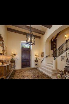 House idea.  Love the staircase :)