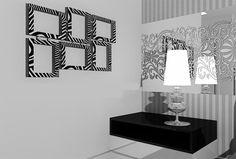 Decoração de Interiores - Quadros - http://www.dicasdecoracao.com/decoracao-de-interiores-quadros/