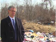 Illegal dumping in Carroll Park contributing to stream pollution - ABC2News.com