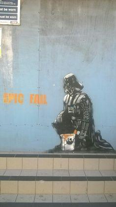 Street art #Weston super mare