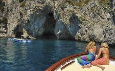 Tanning in Capri - Italy