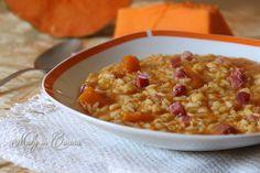 risotto zucca e speck #food #recipe #ricetta #cook