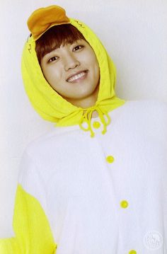 B1A4_Sandeul.... I never expected anything different. I see him like this most of the time, like a kid, but then he starts singing with real intensity and seriousness and that's when I can't believe it's him.