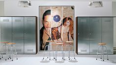 Sectional steel wardrobe CITYBOX by EmmeBi design Pietro Arosio Steel Wardrobe, Wardrobe Design, Home Collections, Furniture Design, Mirror, Interior, Purpose, Juice, Closet Storage