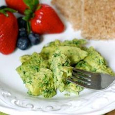 Green Eggs - Healthy Recipes: 10 Green Foods for St. Patrick's Day - Shape Magazine