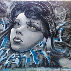 Real Queens Graffiti Mural Odeith Damaia Portugal
