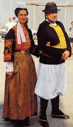 FolkCostume & Вышивка: Обзор Костюмы и вышивка Breizh, Бретань Бретань или