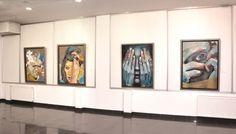 Exhibition -  Mihail Korubin- Miho  Korubin  #art #Figurative #paintings #figures #faces #portraits #hands #korubin #mihail #oil #canvas #exhibition
