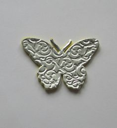 Upcycled Aluminum Can Butterflies for cards or scrapbooks