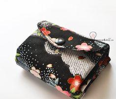 Monedero estilo japones Wallet fabric, japanese, oriental, easy Creativa4all www.creativa4all.es