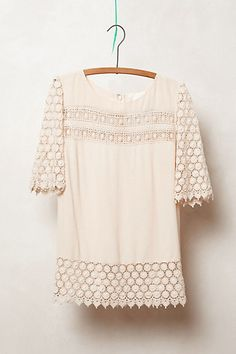 . mom can make me a blouse like this with the lace we bought at the swapmeet :)