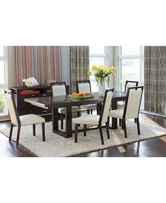 Sofia Vergara Biscayne  Pc Dining Room Love The Table And That - Macys dining room sets