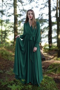 Hickory Dress Green