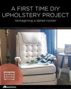 DIY Upholstery • AD