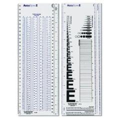 C-Thru / Accu Spec II Type Gauge and Specifier