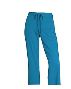 Greys Anatomy Womens PlusSize 5 Pocket Drawstring Scrub Pant Ceil Blue 3XLarge Capri 2XL * Want to know more, click on the image. (Note:Amazon affiliate link) #PantsCapris