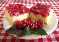 Rybízový koláč - výborná pudingová varianta | Jen tak ... Cheesecake, Desserts, Food, Tailgate Desserts, Deserts, Cheesecakes, Essen, Postres, Meals