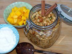Granola med kanel – Berit Nordstrand Ricotta, Frisk, Granola, Food To Make, Nom Nom, Breakfast Recipes, Oatmeal, Good Food, Food Porn