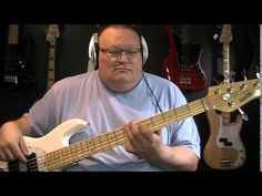 ▶ David Bowie Blue Jean Bass Cover with Bass Notes & Tablature - YouTube