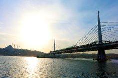 Haliç'teki yeni köprüde sona gelindi
