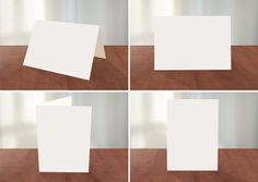 Greeting Card Photoshop Mockup on Behance