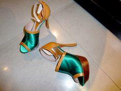 EMPORIO ARMANI shoes from the S/S 2011 Show, Milan. Photo Caroline Gaimari