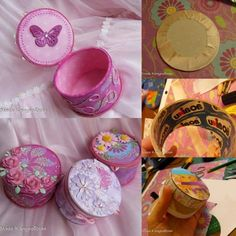 {DIY Gift Box} from a Duct Tape Roll