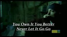 Eminem - Lose Yourself With Lyrics And Official Video HD  (Good Song...meaning is DO NOT GIVE UP!) You Can Do Anything You Set Your Mind To.