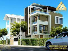 Mẫu nhà đẹp phong cách hiện đại http://www.kientrucadong.com/thiet-ke-biet-thu-phong-cach-hien-dai-tp-nam-dinh-624-101.html