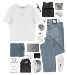 """i ain't sorry"" by omgjailah ❤ liked on Polyvore featuring Cheap Monday, Acne Studios, Surya, Mansur Gavriel, Sarah Baily, Birkenstock, philosophy, Hermès, MICHAEL Michael Kors and NARS Cosmetics"