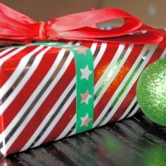 A couple of fun ideas for sprucing up your holidays with Washi Tape