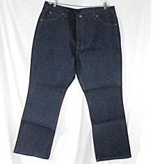 480b9a030d Vintage Mens Sears Roebucks Jeans Size 44 X 32 Actual 43 X 32 Boot Cut New