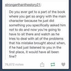 Thomas from the Maze Runner. Dang it. Who do you think of when reading this? (One character)<----Eragon but not always Eragon sometimes like murtagh or brom