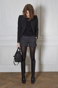 Black Blazer + Black