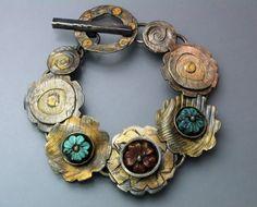 Golden Flowers >> beautiful bracelet by Temi