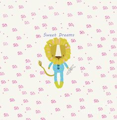 Cartoon Sweet Dreams Lion by Tracey Everington Cute Lion, Sweet Dreams, Art Designs, Pink Flowers, Fine Art America, Digital Art, Christmas Gifts, Advertising, Greeting Cards