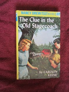 The Clue in the Old Stagecoach by Carolyn Keene - Nancy Drew # 37 - 1988 ~~ For Sale At Wenzel Thrifty Nickel eCRATER store