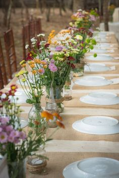 We sell Perfect Burlap for Table Decorations. And a NO-FRAY Burlap Runner with O<br> Wedding Colors, Wedding Styles, Wedding Flowers, Garden Wedding, Diy Wedding, Decoration Evenementielle, Fleurs Diy, Wedding Table Decorations, Perfect Wedding