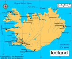 Iceland Atlas: Maps and Online Resources | Infoplease.com