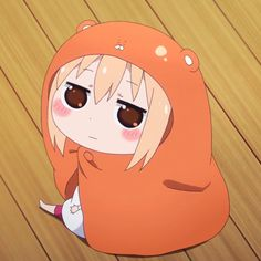 Discovered by catsushi. Find images and videos about anime, himouto! umaru-chan and umaru doma on We Heart It - the app to get lost in what you love. Anime Chibi, Anime Manga, Kawaii Chibi, Girls Anime, Anime Art Girl, Otaku Anime, Cute Anime Pics, Anime Love, Himouto Umaru Chan