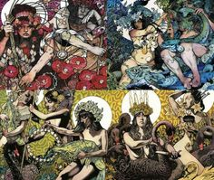 The awesome art of John Baizley (singer of Baroness)