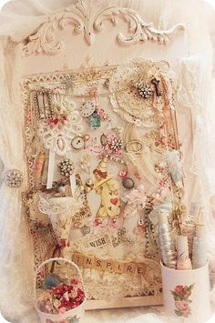 Another pin board - by Miss Rose Sister Violet