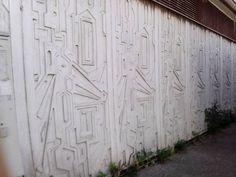 Krčma -Geometrické reliéfy - 70- Petržlka-Bratislava.
