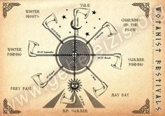 Asatru's Wheel of The Year - I dont follow this, but nice sentiment!
