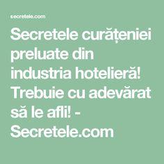 Secretele curățeniei preluate din industria hotelieră! Trebuie cu adevărat să le afli! - Secretele.com Weather, Cleaning, Math, Pandora, Math Resources, Home Cleaning, Weather Crafts, Mathematics
