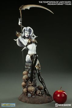 Lady Death The Temptation of Lady Death Premium Format(TM) F | Sideshow Collectibles